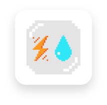 water electric icon