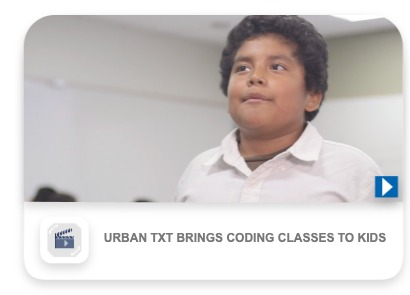 Urban Txt brings coding classes to kids