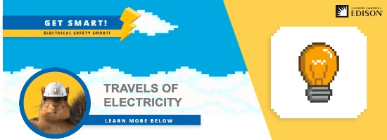Travel of electricity